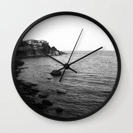 Sea of black Wall Clock