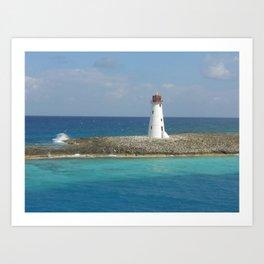 Coral Point Art Print