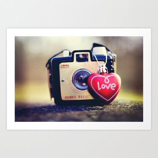brownie love Art Print