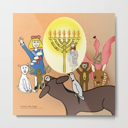Jesus, The Light (Christian Children's Gift Products) Metal Print