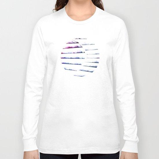 α White Crateris Long Sleeve T-shirt