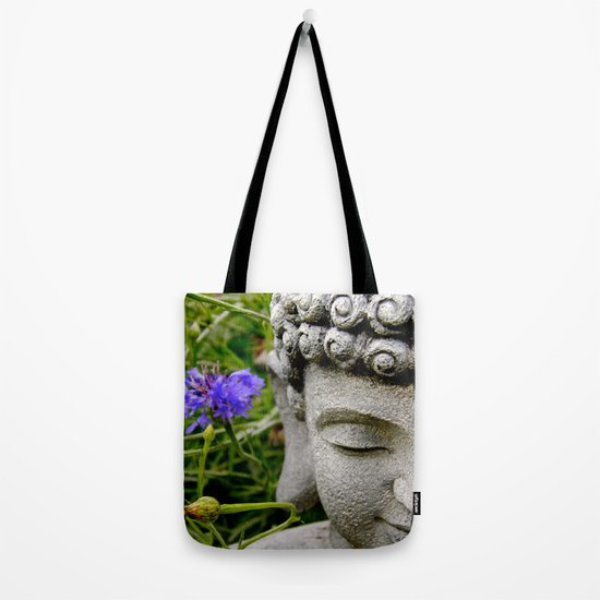 Peace Through Flowers Tote Bag