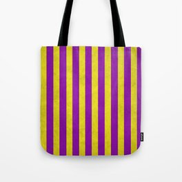 Stripes Collection: Royalty Tote Bag