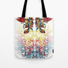 Talks too Much Tote Bag