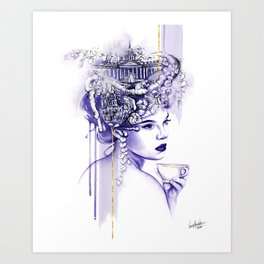 Miss Saint Petersburg Art Print