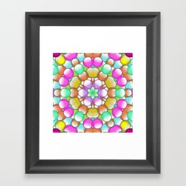 gum drops Framed Art Print