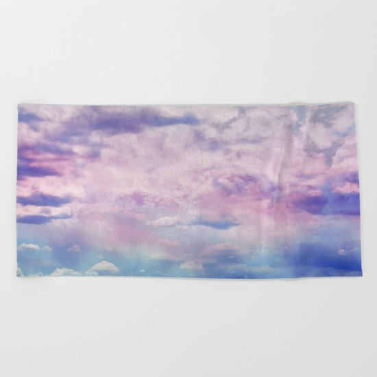 Cloud Trippin' Beach Towel