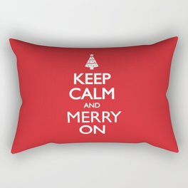 Keep Calm Rectangular Pillow