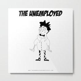 The Unemployed - Stelvio Metal Print