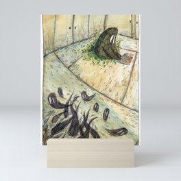 Kettle and the Garden Monsters - Parsley Merlin and Beatrice Page Mini Art Print