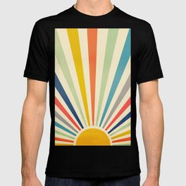 Sun Retro Art III T-shirt