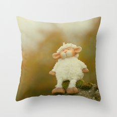 Just Sitting in the Evening Sun Throw Pillow