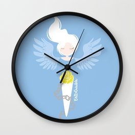Endometriosis & Depression - Commissioned Work Wall Clock