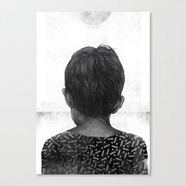 Boy and the Sun Canvas Print