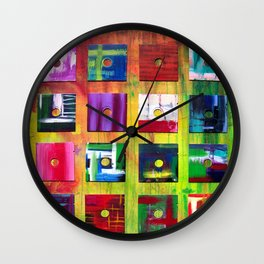 Floppy's Floppy's Floppy's Wall Clock