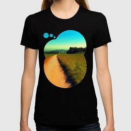 Hiking on a hot afternoon T-shirt