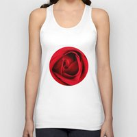 card Tank Tops featuring GREETING CARD by mark ashkenazi