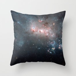 Starburst - Captured by Hubble Telescope Throw Pillow