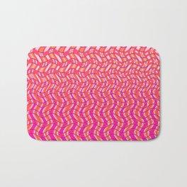 Pink Tangerine Twist Bath Mat