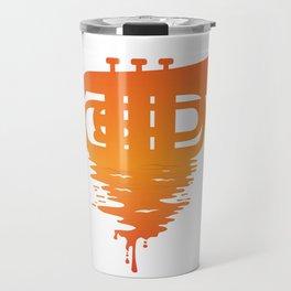 Baritone Euphonium Band Musician Bandsman Music Saxo Gift design Travel Mug