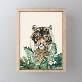 Tiger Framed Mini Art Print