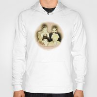 marx Hoodies featuring MARX BROTHERS - 004 by Lazy Bones Studios