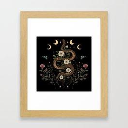 Serpent Spell Framed Art Print