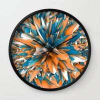 splash Wall Clocks featuring Splash by Danny Ivan