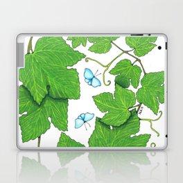 Grape Leaves Laptop & iPad Skin