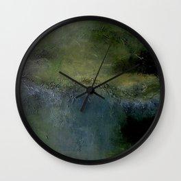 The Lagoon of Serenity Wall Clock