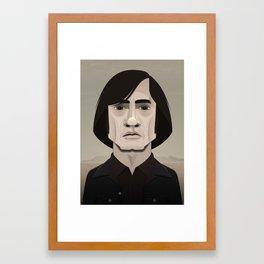 ANTON CHIGURH Framed Art Print