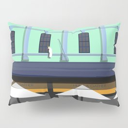 Cafe Berry Street Nowra Historic Architecture Pillow Sham