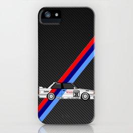 Classic M Carbon iPhone Case