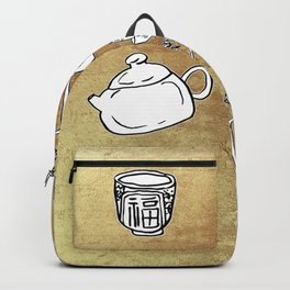 Chinese Tea Doodle 1 Backpack