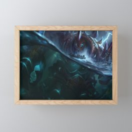 Giant Enemy Crabgot League of Legends Framed Mini Art Print