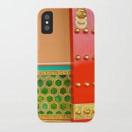 Red Door in the Forbidden City iPhone Case