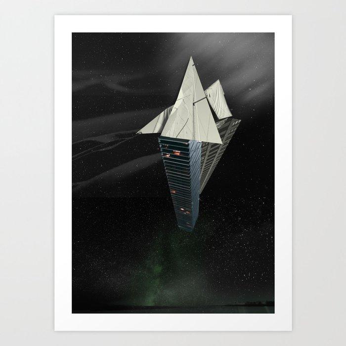 Ark of the Anthropocene Art Print