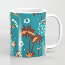 Hawaiian fire dancers Coffee Mug