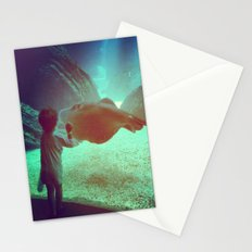 Boy at the Portuguese Oceanarium   Stationery Cards
