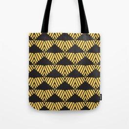 Dune-Black Tote Bag