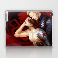 captian america and winter soldier Laptop & iPad Skin