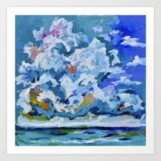 Southerly Art Print