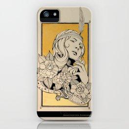 No Title No:2 iPhone Case