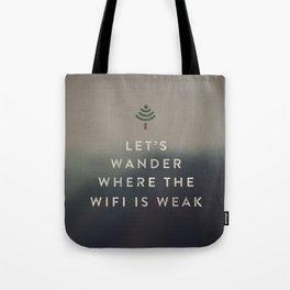 WIFI WANDERER Tote Bag