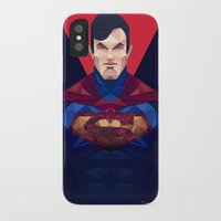 superman iPhone & iPod Cases featuring Superman by Muito