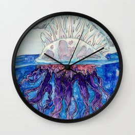 Man-O-Peace Wall Clock