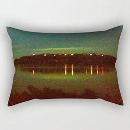 Night Lights Rectangular Pillow