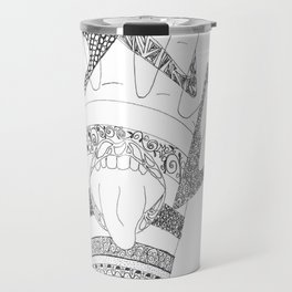 Crazy Hand Travel Mug