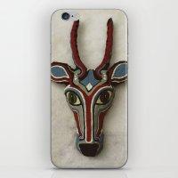 majoras mask iPhone & iPod Skins featuring Mask by Abundance