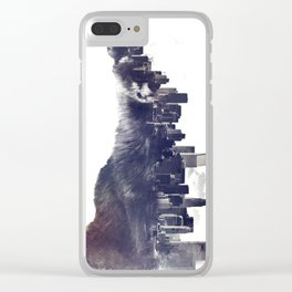 Fox from the City Clear iPhone Case